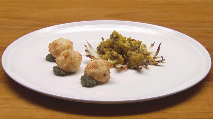 Gobi with Paneer and Mint Chutney