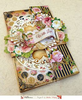 Papericious: Gift Card Envelope with Tutorial-My Golden Garden