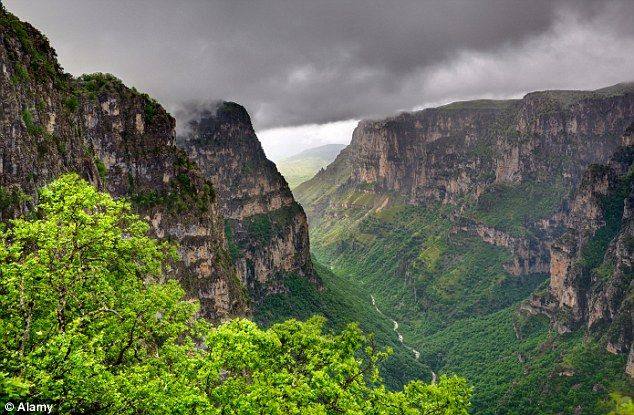 Vikos Gorge is in the Guinness Book of Records for being the world's deepest canyon in pro...