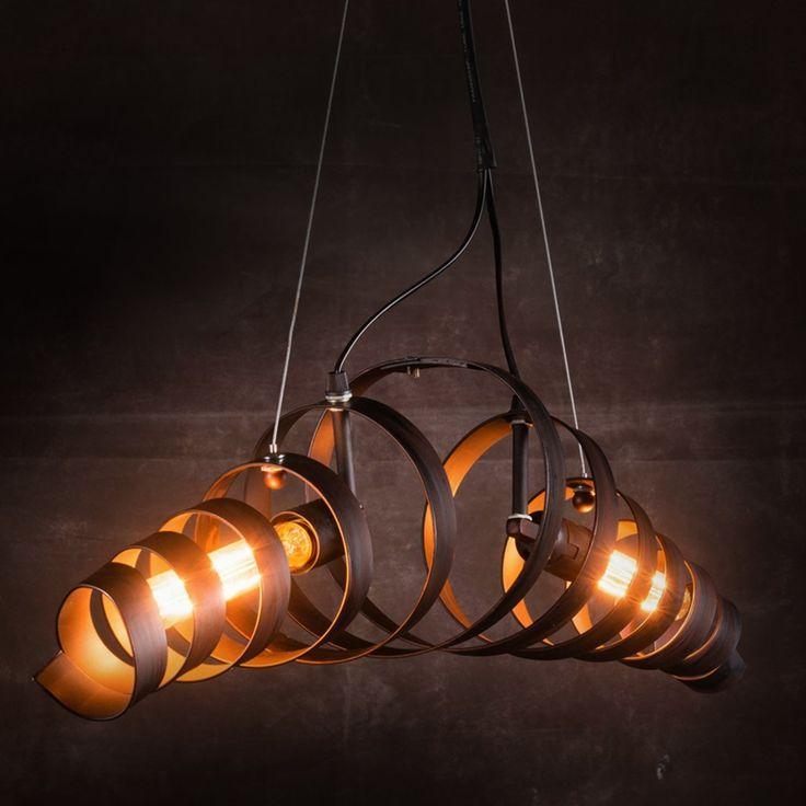 17 meilleures id es propos de lustre industriel sur for Lampes industrielles d occasion