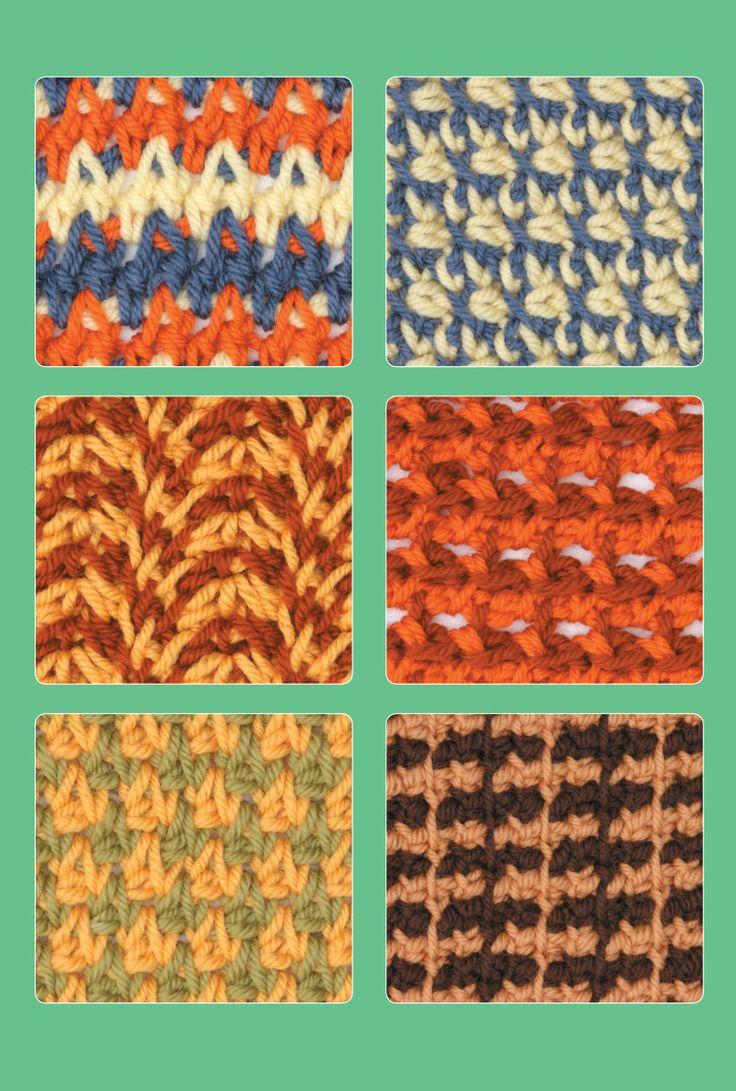 Tunisian crochet stitch guide ebook |Crochet stitch guide online - Leisurearts