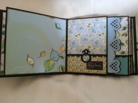 7 x 7 mini - Kathy Davis: Journeys - by Barb's Scrapbooking. She does a quick…