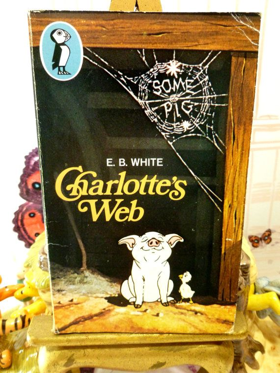 Charlottes Web Vintage Puffin Paperback Book Fern by KittysTales