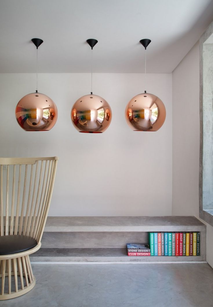 Tom Dixon Copper Shade Pendant: Sao Paulo, Studios Guilherm, Lighting, Dm House, Copper, Interiors Design, House Studios, Guilherm Torres, Toms Dixon