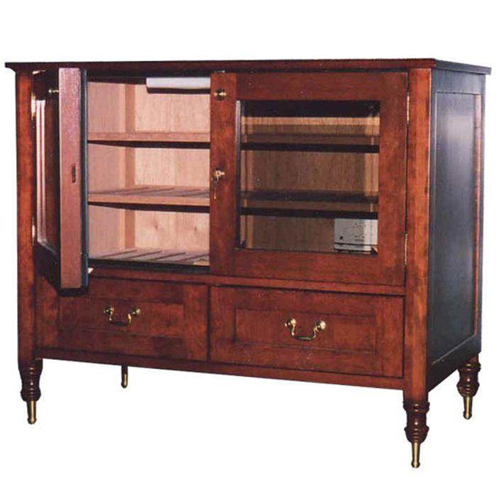 Brookstone Antique Cigar Cabinet. $5,073.99(USD)