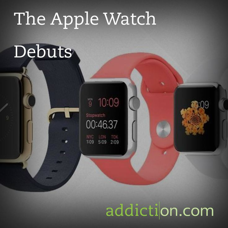 The Apple Watch Debuts