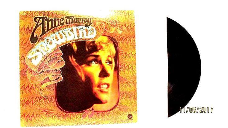 1970 Anne Murray Snowbird Vinyl LP 33 Capitol Records ST579 Rock #FolkCountryRock