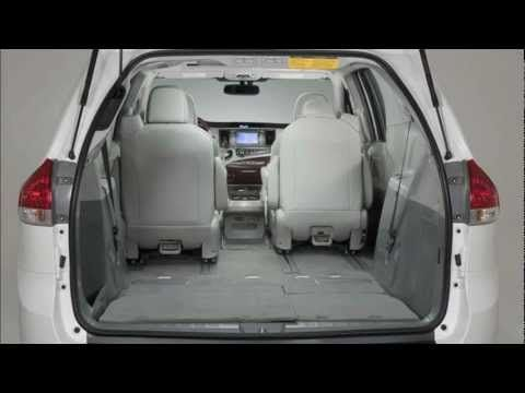 ALL NEW 2013 TOYOTA SIENNA | Family vehicles!