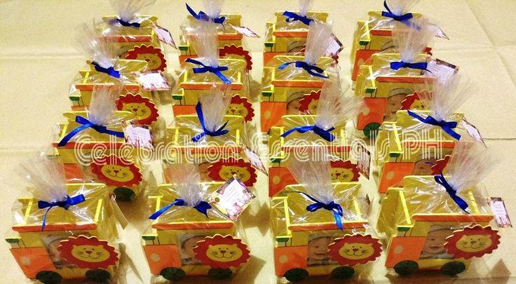 Birthday Safari Theme Souvenir