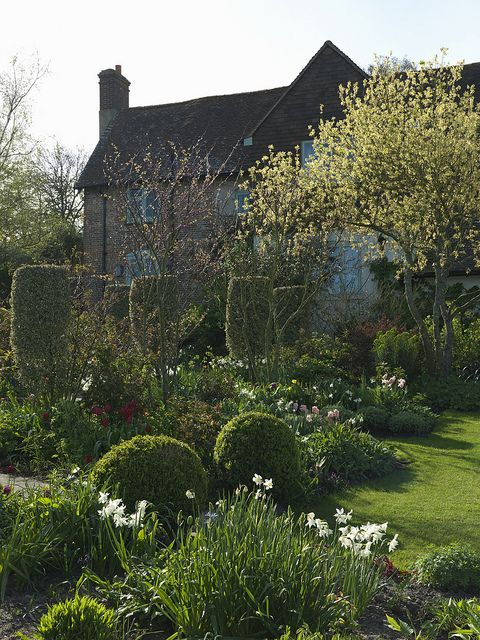Sandhill Farm House and garden, Sussex