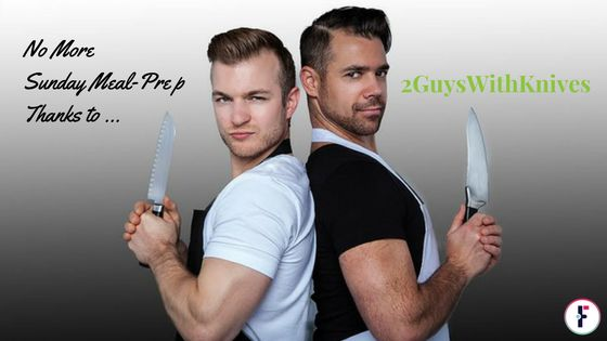 No More Sunday Meal-Prep Thanks 2GuysWithKnives This Vancouver based company focuses on convenient, highly nutritious, culinary level meal is not your typical meal delivery services.
