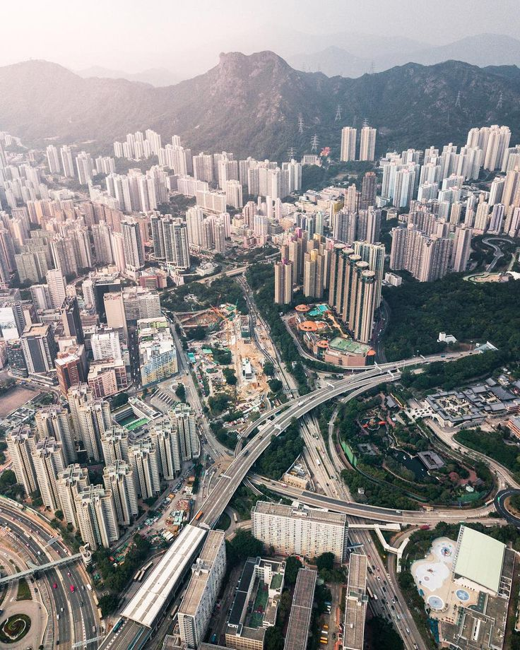 Hong Kong From Above: Drone Photography by Timothy Ma #art #photography #Drone Photography