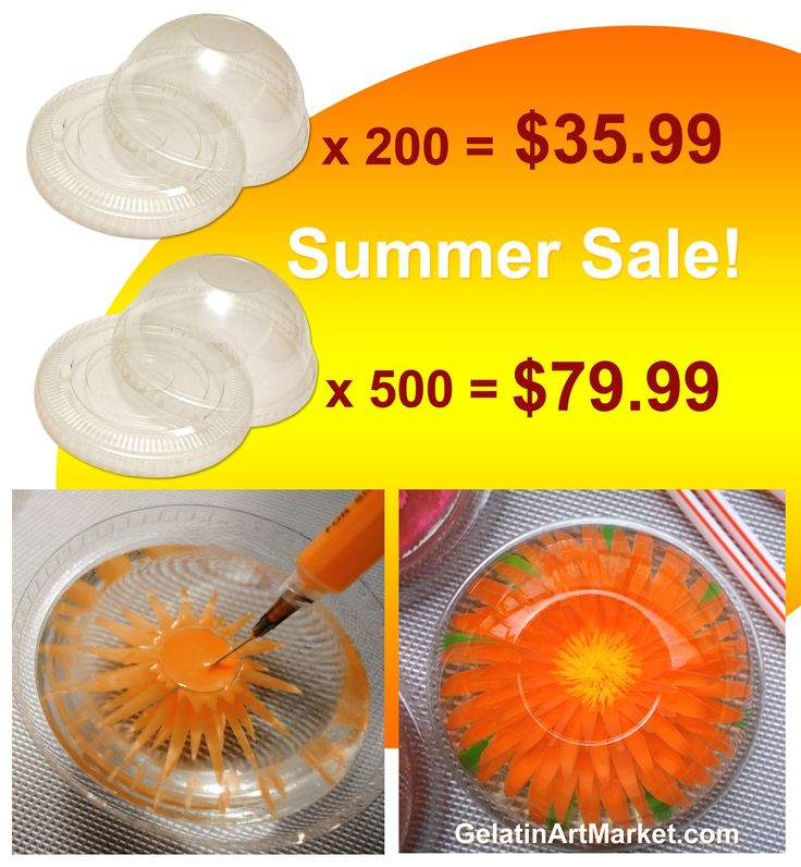 Small plastic containers on sale!