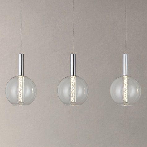 Buy John Lewis Orson LED Bubble 3 Bar Ceiling Light Online at johnlewis.com