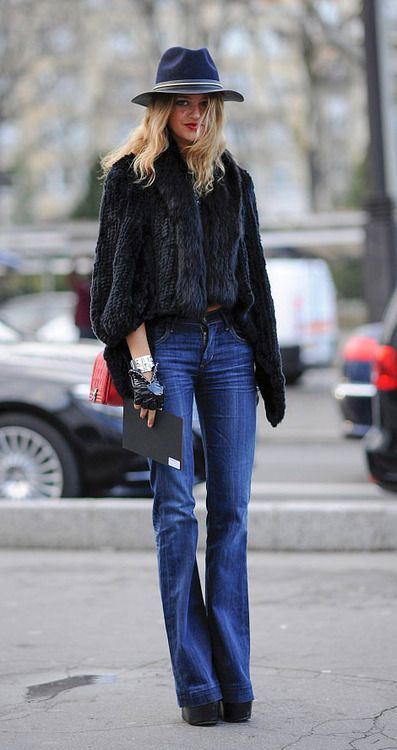 Paris Street Style   PFW More Street Style HERE… Image Source