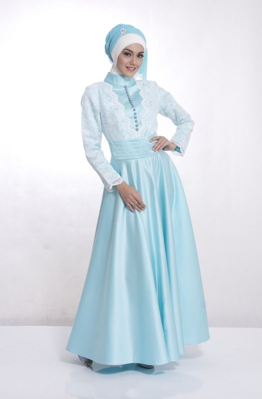 Model Busana Gaun Pesta Muslim Remaja