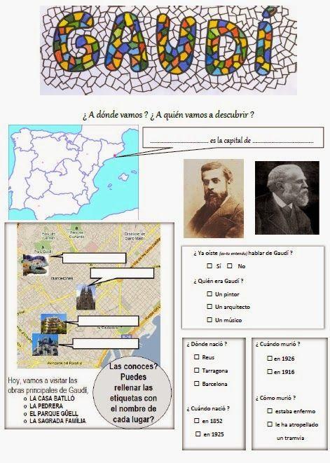 Les quichotteries de Delphine: HDA Travail (2) : Barcelona en la época de Gaudí: