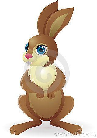 Desenhos animados engraçados do coelho