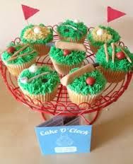 Image result for sport relief cupcakes
