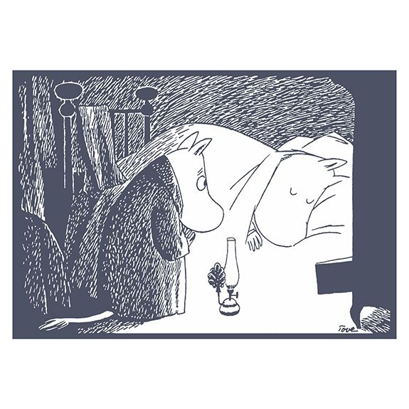 "Because Moominmamma is still asleep...""Moominland Midwinter"""
