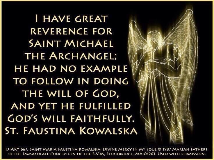 St. Faustina Kowalska | St. Michael the Archangel