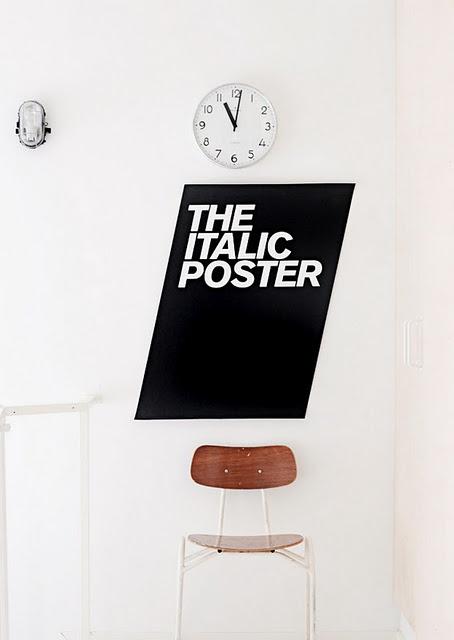 Via La Maison d'Anna G | Eivind Molvær's Italic Poster