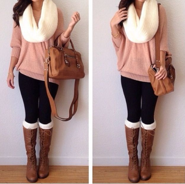 Cute winter outfit. #Fashion #Trending #Womensfashion | Visit WISHCLOUDS.COM for more...