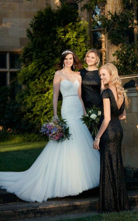 D2029 Curve Hugging Wedding Dress by Essense of Australia