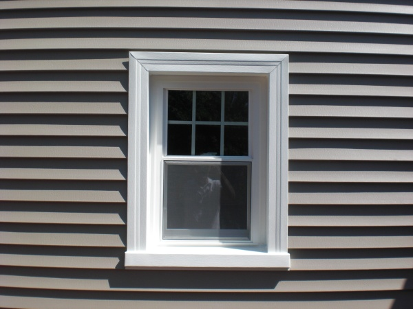 Google image result for for Installing exterior window trim on siding
