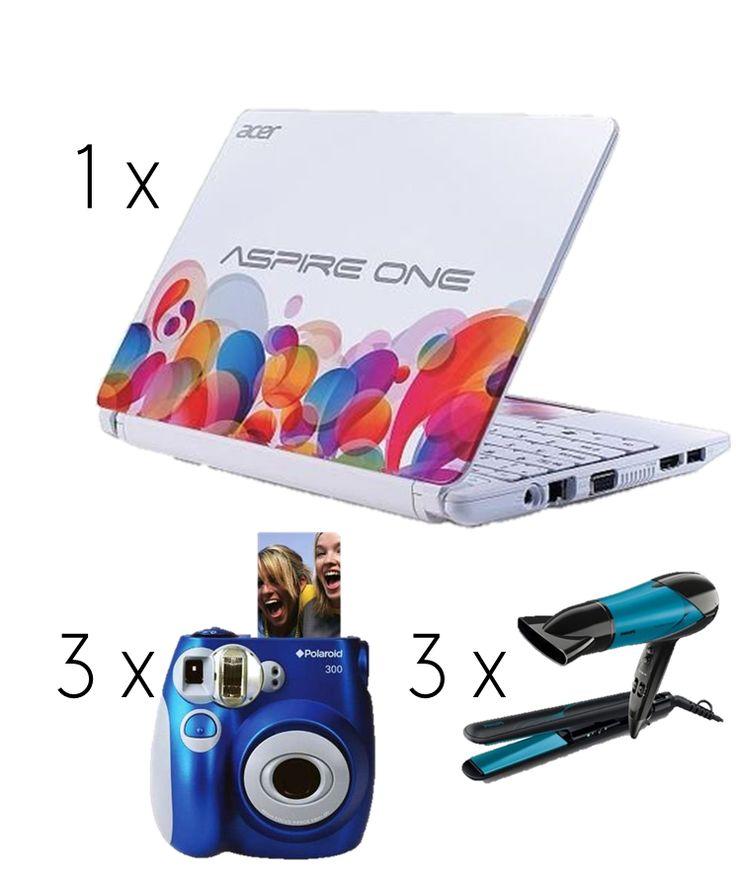 A może którejś z Was przydałby się nowy netbook, aparat fotograficzny czy zestaw do stylizacji włosów? ;-)