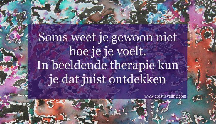 Beeldende Therapie www.creatieveling.com
