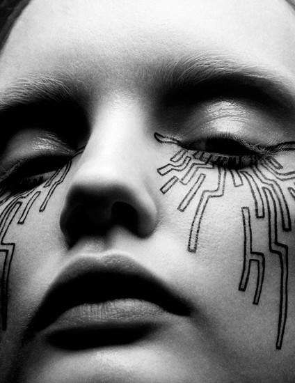 Abstract Futuristic Beauty - The Vision China June 2014 Editorial