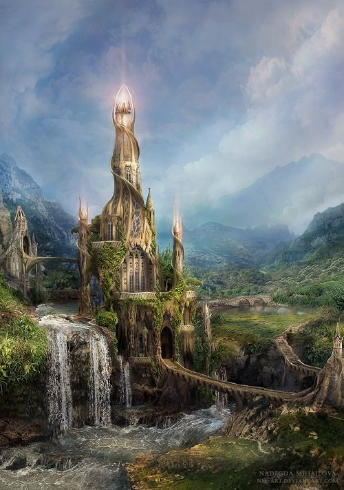 (via Wizard's Tower by *NM-art on deviantART)