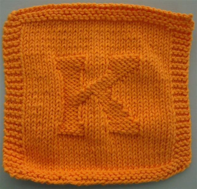 Knitted Alphabet Dishcloth Patterns : 208 best images about ::Knit : Dishcloths:: on Pinterest ...