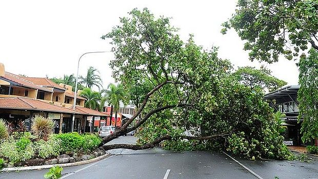 Cyclone Ita, Far North Queensland, Australia, April 2014