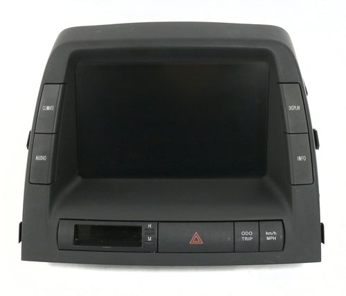 2004-2009 Toyota Prius Display Screen Monitor w Controls Part Number 86110-47081