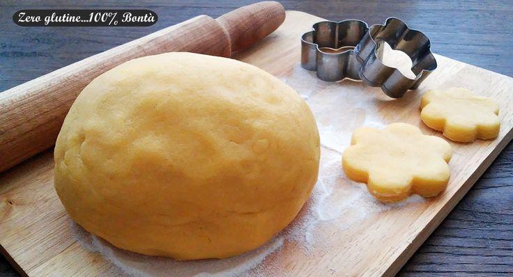 Pasta frolla senza glutine perfetta per realizzare biscotti e crostate friabili. Preparata con solo farine naturalmente senza glutine ,come mais e riso.