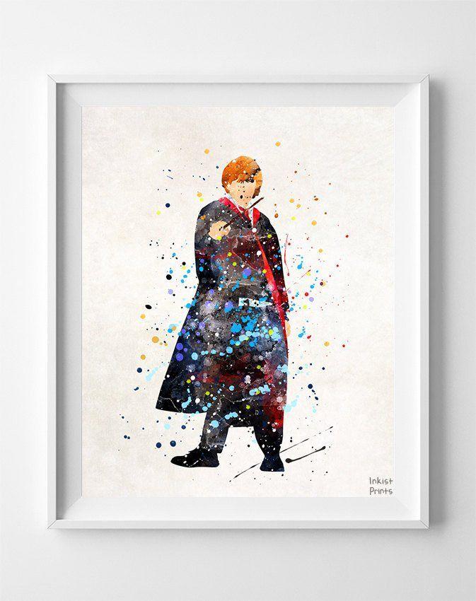 Ronald Weasley, Harry Potter Print