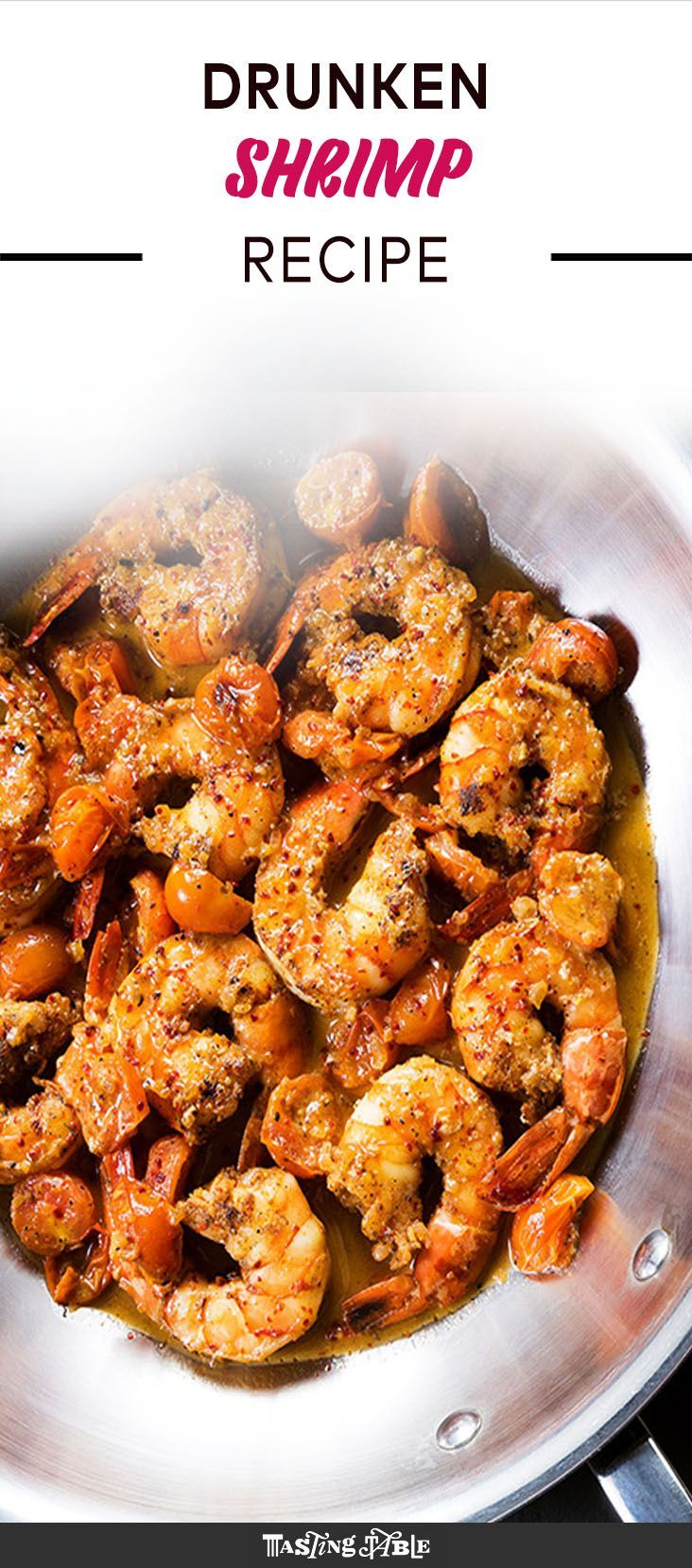 For an easy but epic dinner, fire up this seared shrimp with blistered cherry tomatoes that's deglazed with absinthe and finished with butter.
