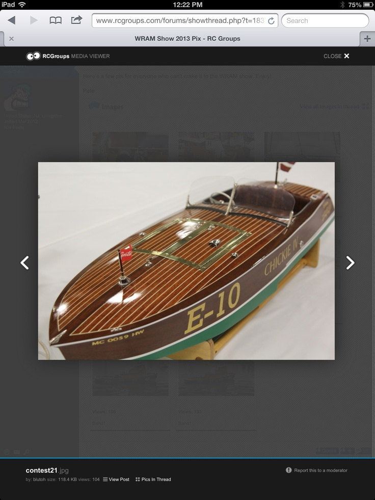 Model Wood Race Boat Model Ships Rc Amp Static