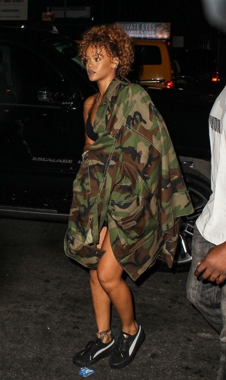 September 9: Rihanna at Travis Scott concert in NYC