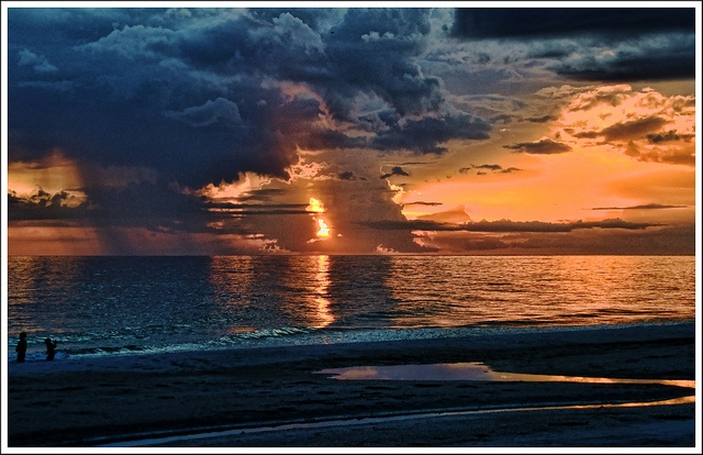 Holmes Beach Bradenton Florida ~Stormy Sunset