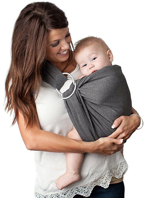 b6493c84116 Amazon.com   4 in 1 Baby Wrap Carrier and Ring Sling by Kids N  Such ...