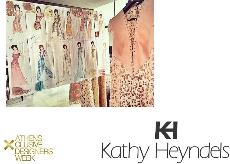 A preview of #KathyHeyndels new collection that will be presented in #17thAXDW. Looking forward to seeing the unique creations on the catwalk of #AXDW :)