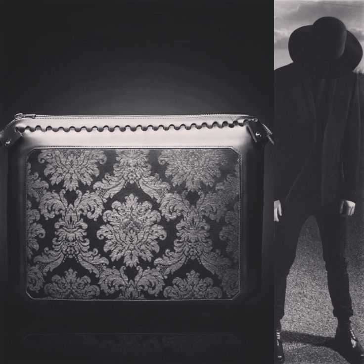 Clutch by The Black Sheep brand http://instagram.com/theblacksheepleather #luxury #leather #menfashion #accessory