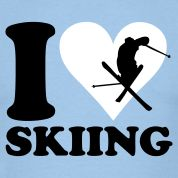 I may hate shoveling and temperatures below 30 degrees, but the only thing in the winter is that I <3 to ski!!