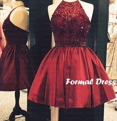 Red Wine Prom Dresses #promdress #prom #coniefox #2016prom