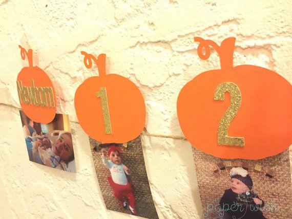Pumpkin 1st birthday Pumpkin 1st birthday banner Pumpkin