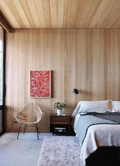 modern interior design ideas and color trends love the paneling on the wall to ceiling great effect.