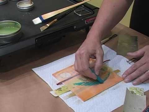 How-To: Combine Collage and Mixed Media With Encaustic  http://www.youtube.com/watch?v=VMLS9qfawPM